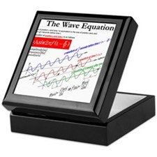 The Wave Equation Keepsake Box