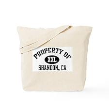 Property of SHANDON Tote Bag