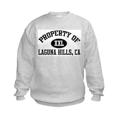 Property of LAGUNA HILLS Kids Sweatshirt