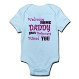 Welcome Home Daddy Onesie