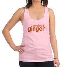 Purebred Ginger Racerback Tank Top