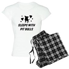 Sleeps with Pit Bulls Pajamas