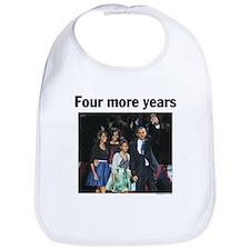Four More Years: Obama 2012 Bib