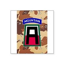 172nd Mountain Infantry Car Sticker