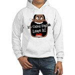 It's Called English [Dark] Hooded Sweatshirt