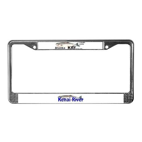 Kenai, Alaska, Alaskan License Plate Frame