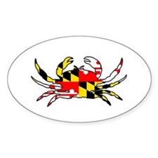 Maryland Crab Decal