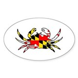 Maryland Crab Stickers