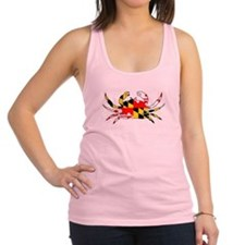 Cute Maryland crab Racerback Tank Top