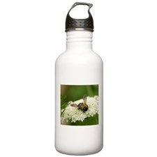Bee-cause She Loves Queen Anne's Lace Water Bottle