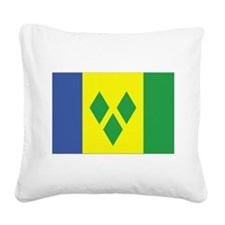 Saint Vincent and Grenadines.png Square Canvas Pil