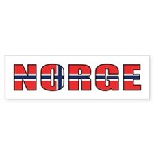 Norway Bumper Bumper Sticker