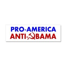 Pro-America Anti-Obama Car Magnet 10 x 3