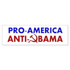 Pro-America Anti-Obama Bumper Sticker