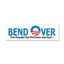 Bend Over Car Magnet 10 x 3