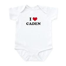 I HEART CADEN Infant Creeper