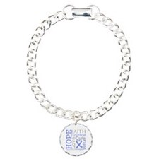 Stomach Cancer Hope Courage Bracelet