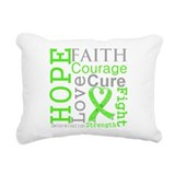 Non-Hodgkin Lymphoma Rectangular Canvas Pillow