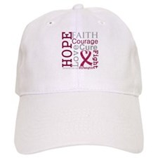 Multiple Myeloma Hope Courage Baseball Cap