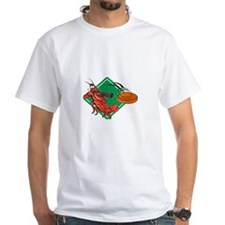 Crayfish Lobster Target Skeet Shooting Shirt