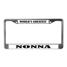 Nonna License Plate Frame Gift