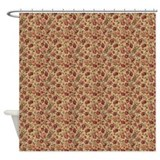 Tapestry Roses Shower Curtain