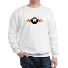 Flamed 8 Ball Sweatshirt