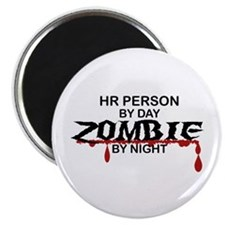 "HR Person Zombie 2.25"" Magnet (10 pack)"