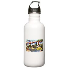 Cadillac Michigan Greetings Water Bottle