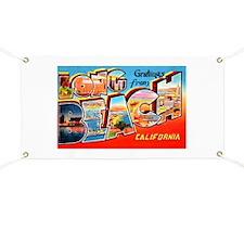 Long Beach California Greetings Banner