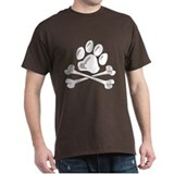paw and crossbones T-Shirt