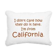 From California Rectangular Canvas Pillow