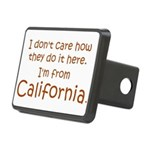 From California Rectangular Hitch Cover