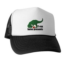 T-rex hates presents Trucker Hat