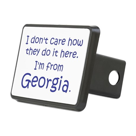 From Georgia Rectangular Hitch Cover
