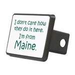From Maine Rectangular Hitch Cover