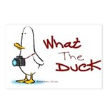 What the Duck Postcards (Package of 8)