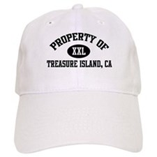 Property of TREASURE ISLAND Baseball Cap