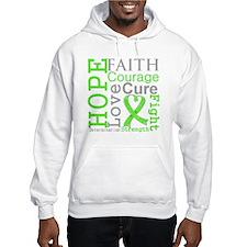 Lymphoma Hope Courage Hoodie