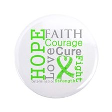 "Lymphoma Hope Courage 3.5"" Button"