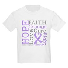 General Cancer Hope Courage T-Shirt
