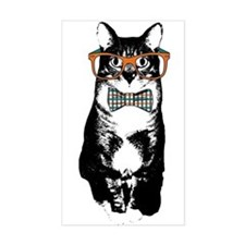 Hipster Cat Decal
