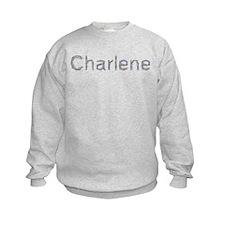Charlene Paper Clips Sweatshirt