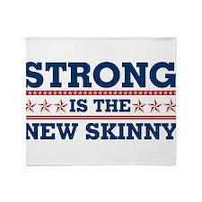 Strong is the New Skinny - Patriotic Stadium Blan