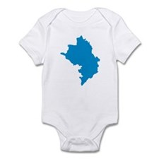 Azerbaijan map Infant Bodysuit