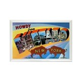 Buffalo New York Greetings Rectangle Magnet