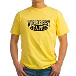 World's Best Pappi Yellow T-Shirt