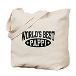 World's Best Pappi Tote Bag