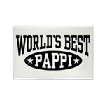 World's Best Pappi Rectangle Magnet
