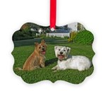 .the boys. Picture Ornament